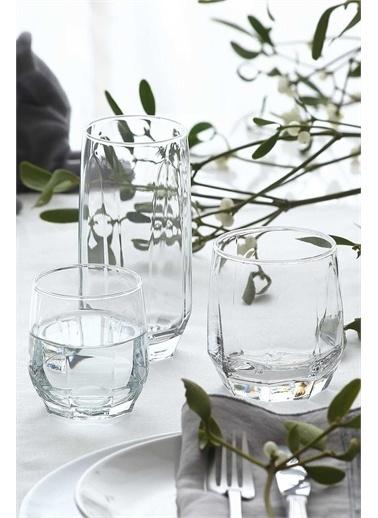 Lav Diamond 36 Parça Bardak Seti - Su Bardağı Seti Takımı Renkli